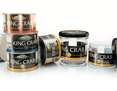 King Crab, premium packaging