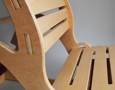 Antigravity Chair:  flat pack yoga chair