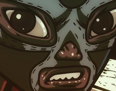 Blue Demon v.s Los Monstruos