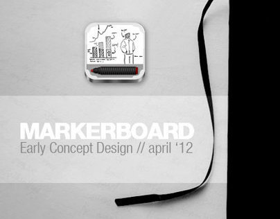 Markerboard: Early Concept Design