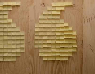 Type with Post-its