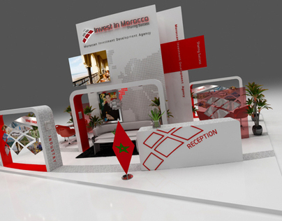 Moroccan Investment Development Agency Stand Design