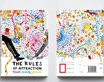 The Rules Of Attraction / book cover design