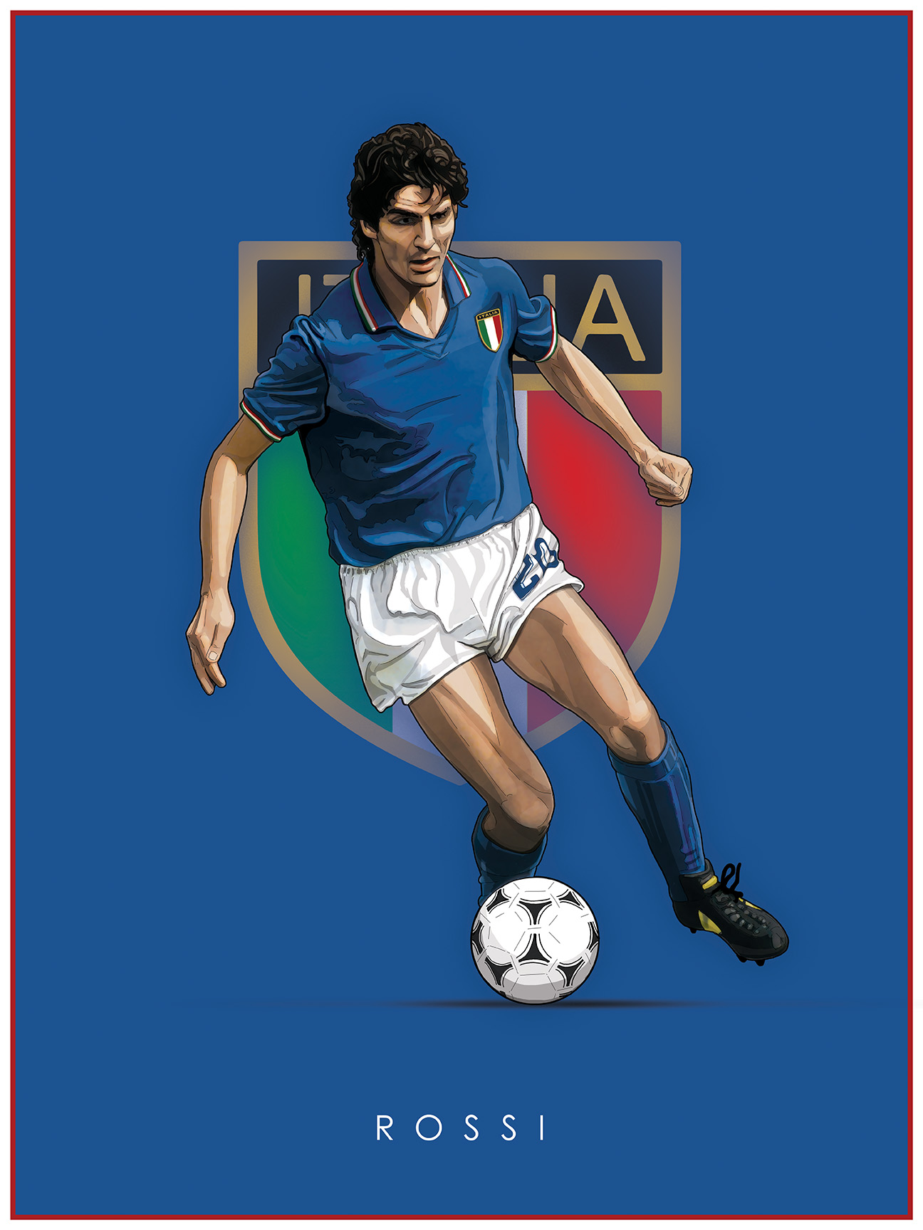 Legends of Football poster series