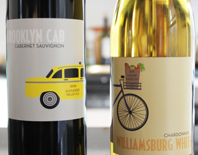 Wine Labels for Brooklyn Winery