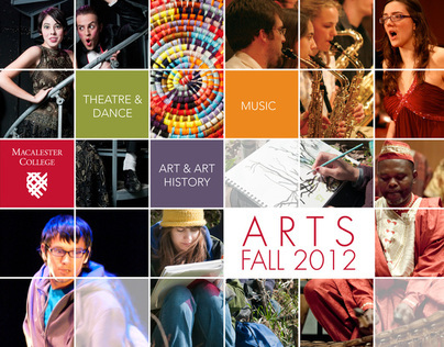 Macalester Fine Arts Events Brochure
