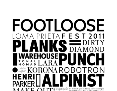 FOOTLOOSE FEST 2011