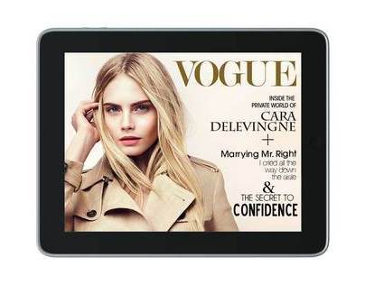 VOGUE iPad App Intro