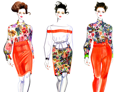 2012 FALL & Resort 2013 Runway Illustrated