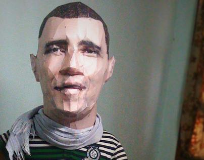 Barack Obama Paper Clone Model