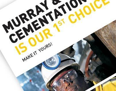 Murray & Roberts Cementation Advertisement