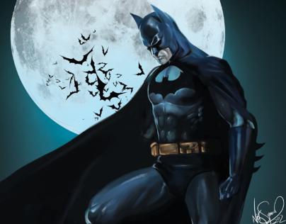 Digital Painting - Batman