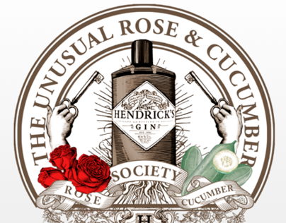 Hendricks - The Unusual Rose & Cucumber Society Party