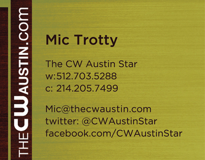 CW Star Business Card