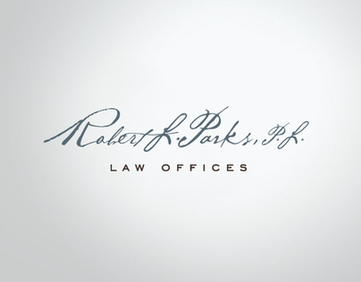 Robert L Parks Law Offices Corporate identity
