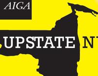 AIGA Upstate NY - Button Design