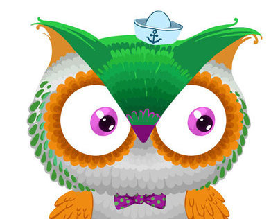 Owl for friend