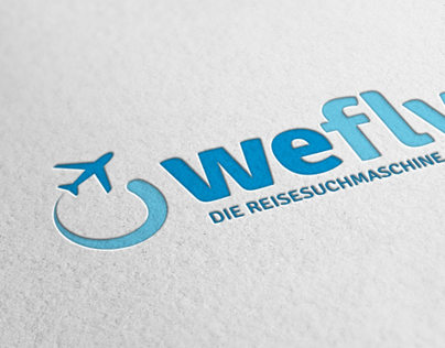 LOGO DESIGN | we fly (travel search engine)