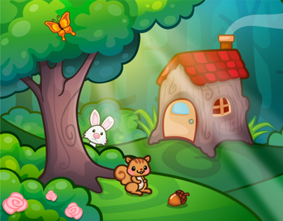 GAME BACKGROUND - COLORING PRINCESS 2013