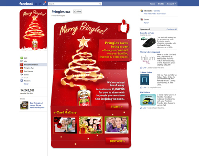 Pringles Facebook Application