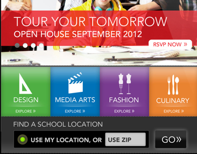 The Art Institutes - Mobile website