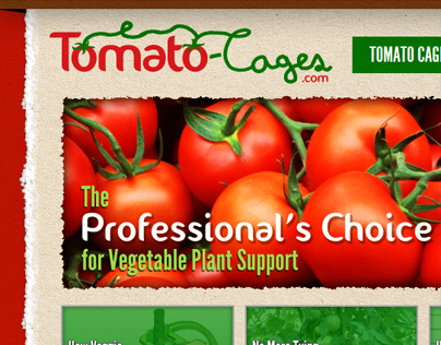 Tomato Cages Website