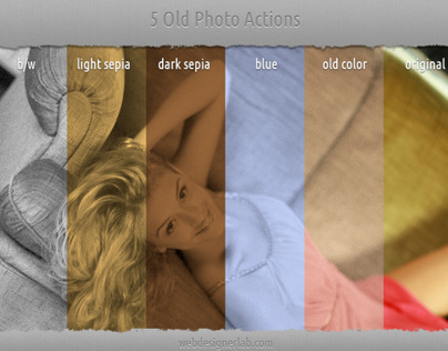 5 Old Photo Actions
