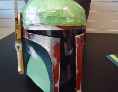 Wearable Boba Fett Helmet