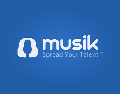 Musik - Logo e Interface