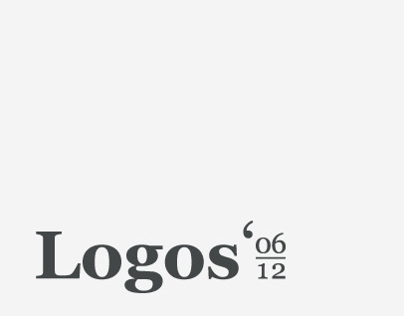 Compilation of Logos & Logotypes 2006 - 2012