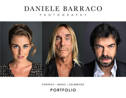 Portfolio - Portrait • Music • Celebrities