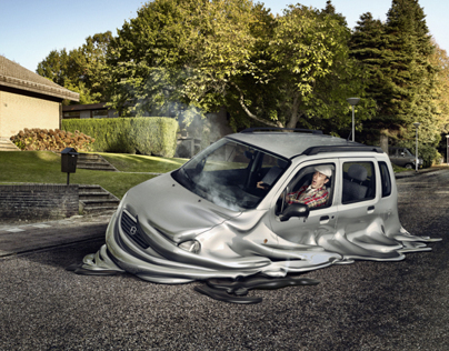 Maarten de Groot | Melting cars