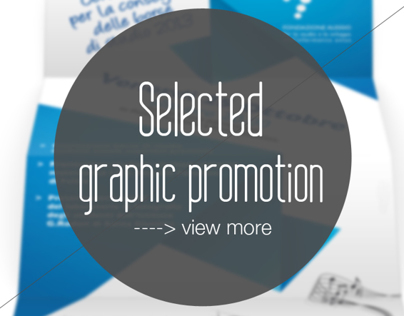 Selection Graphic Promotion - Volantini - locandine