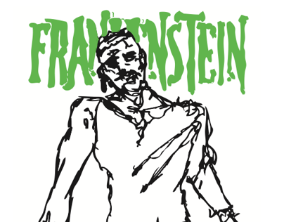 Frankenstein Illustrated Comic