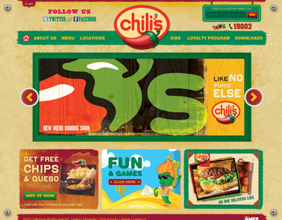 Chilis Egypt Website
