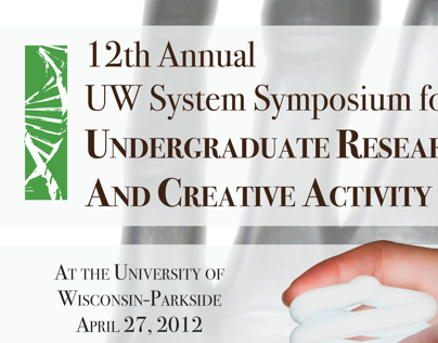 2012 UW System Symposium Booklet Cover