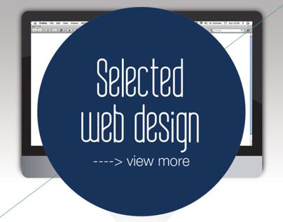 Selected Web Design  - Web Graphic