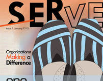 Serve Magazine Design