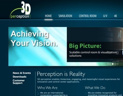 3DP Americas Website Development