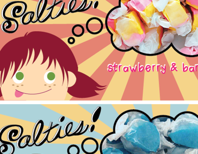 Salties, Saltwater Taffy Package