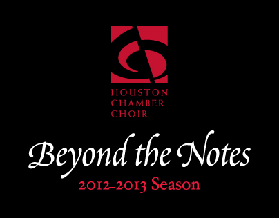 Houston Chamber Choir 2012-2013 Season