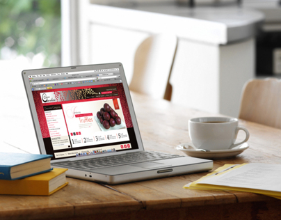 Captain Chocolate Branding and Webpage