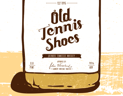 Old Tennis Shoes