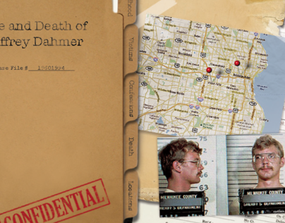 Life and Death of Jeffrey Dahmer- Website Concept