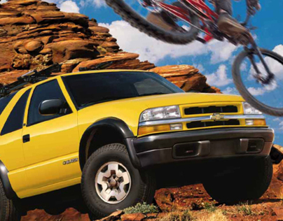 Chevrolet Blazer Catalog