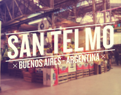 ONE DAY IN SAN TELMO