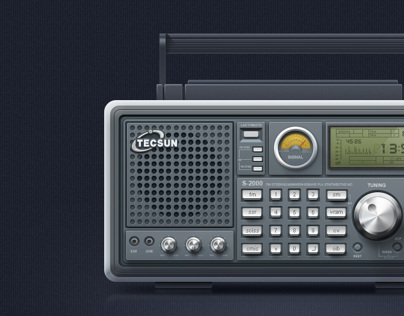 TECSUN Full-band FM Radio