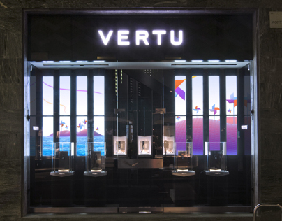 Vertu retail digital animations