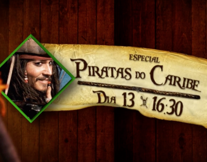 Megapix - Especial Piratas do Caribe