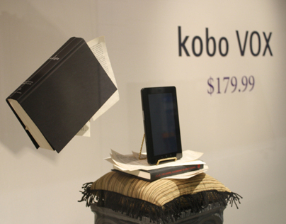Kobo VOX Window Display